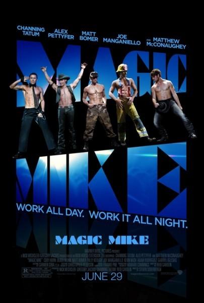 Magic Mike: ecco la nuova locandina