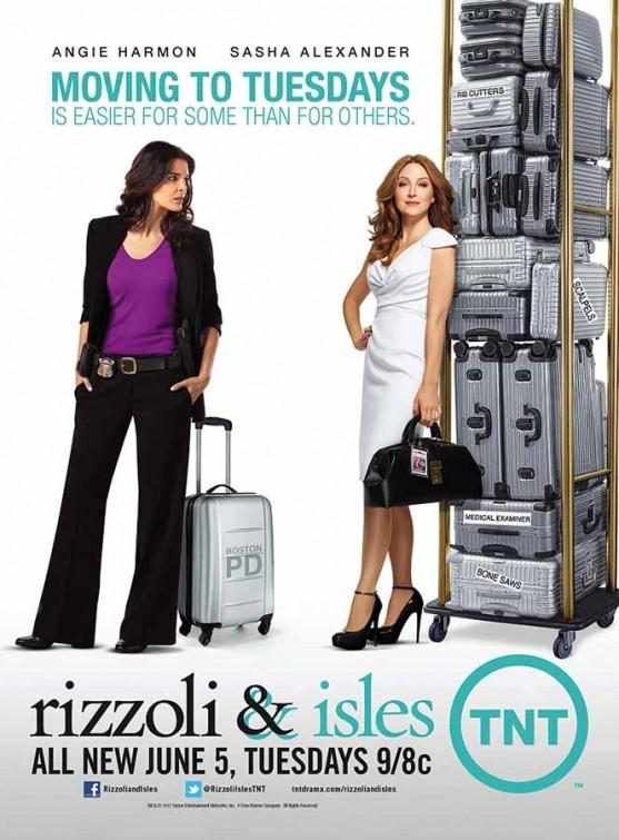 Rizzoli & Isles: uno dei poster della stagione 3