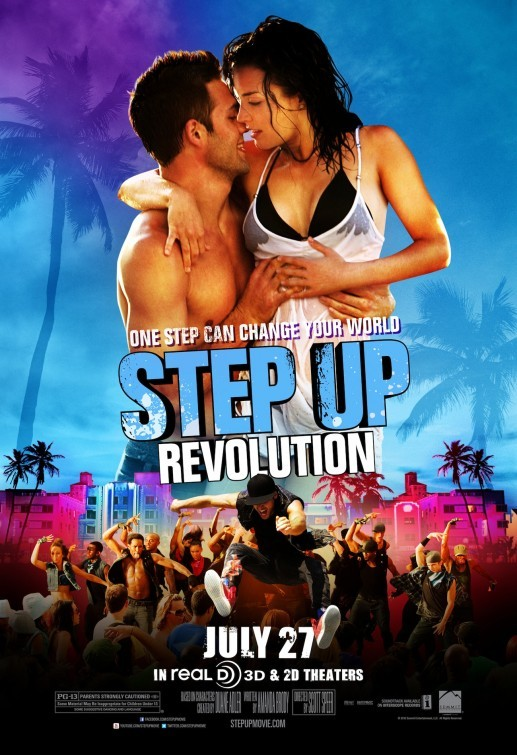 Step Up Revolution: poster internazionale 2