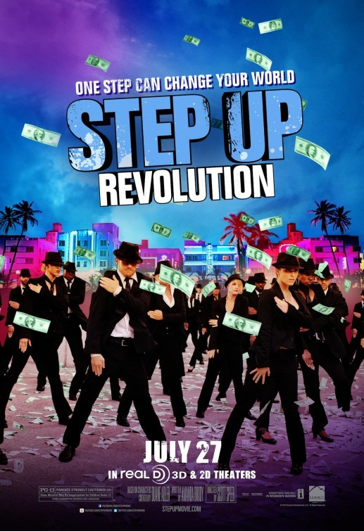 Step Up Revolution: poster internazionale 4