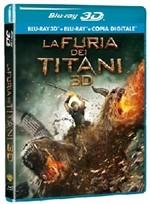 La copertina di La furia dei Titani 3D (blu-ray)