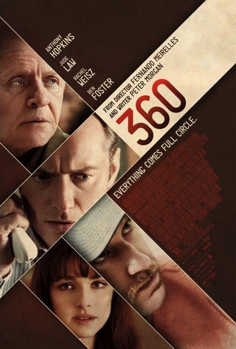360: la locandina del film