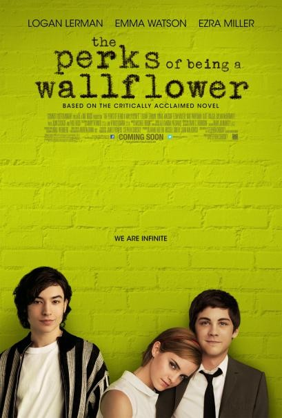 The Perks of Being a Wallflower: la locandina del film