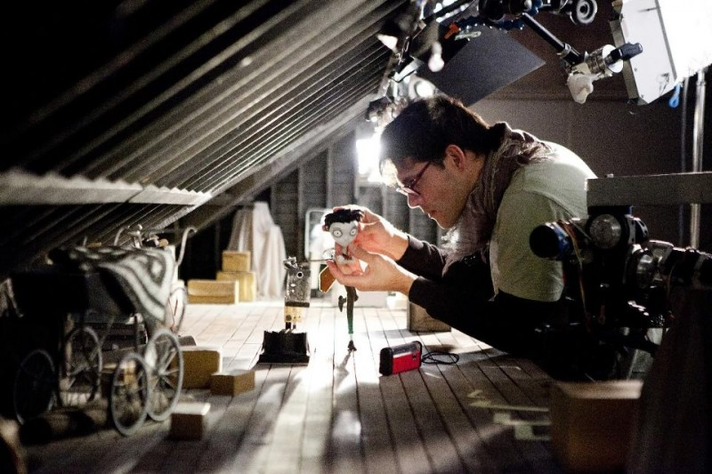 Creando Frankenweenie sul magico set di Tim Burton