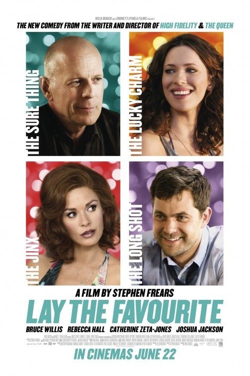Lay the Favorite: la locandina del film