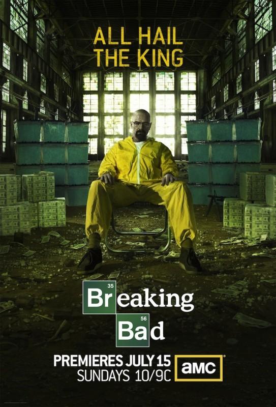 Breaking Bad: un poster della stagione 5 della serie AMC.