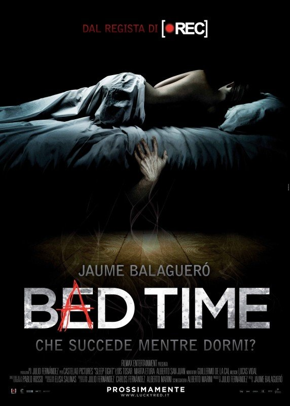 Bed Time: la locandina italiana del film