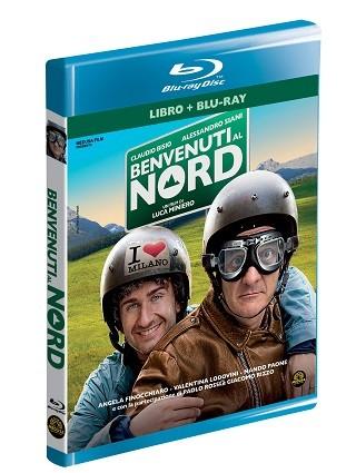 La copertina di Benvenuti al Nord (blu-ray)