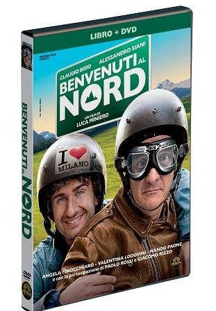 La copertina di Benvenuti al Nord (dvd)