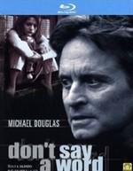 La copertina di Don't say a word (blu-ray)