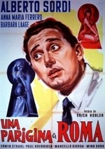 La copertina di Una parigina a Roma (dvd)