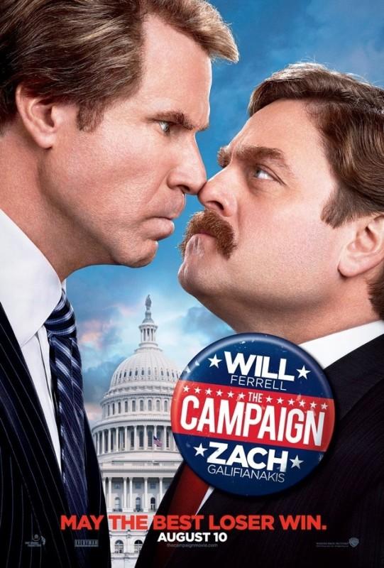 The Campaign: ancora una buffa locandina della satira politica