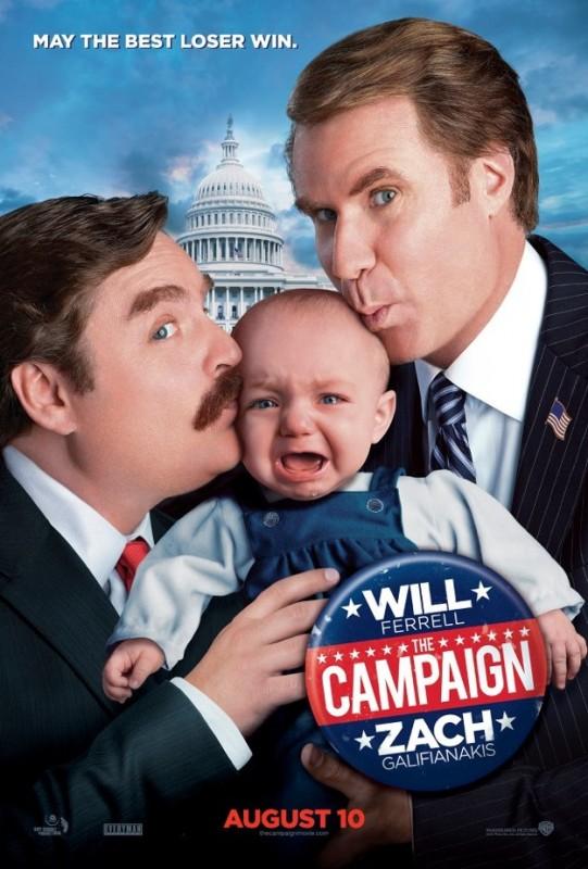 The Campaign: una divertente locandina