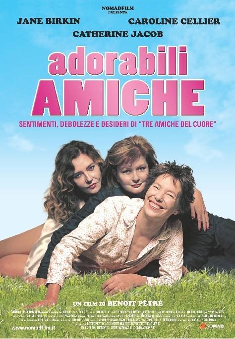 Adorabili amiche: la locandina italiana del film