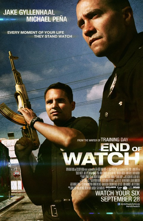 End of Watch: primo poster internazionale del film