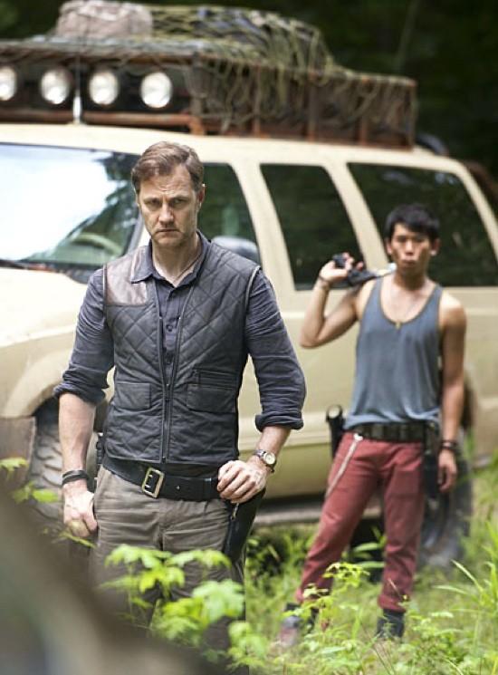 The Walking Dead: una prima foto di David Morrisey nel ruolo del Governatore