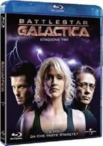 La copertina di Battlestar Galactica - Stagione 3 (blu-ray)