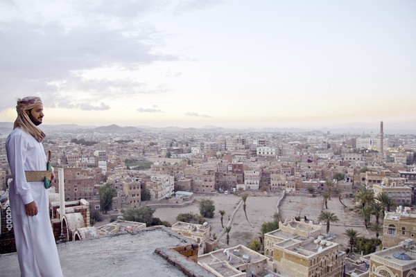 Un'immagine tratta dal documentario Yemen's Reluctant Revolutionary