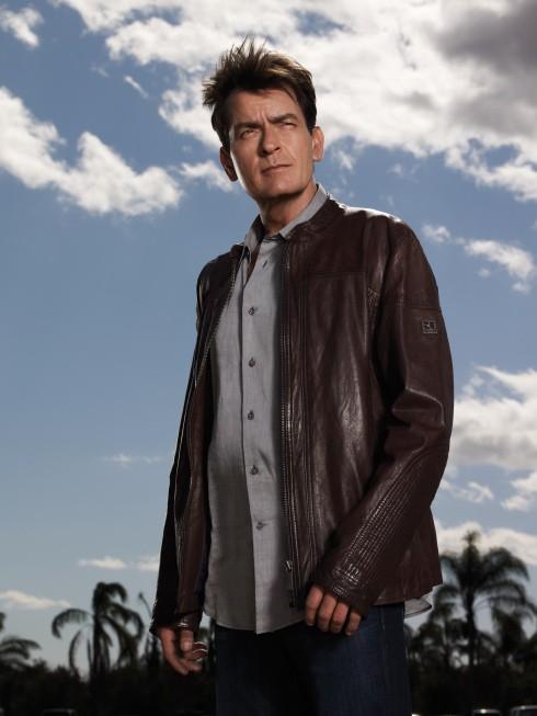 Anger Management: Charlie Sheen in una immagine promozionale della serie