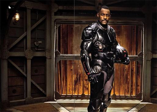 Idris Elba nella prima immagine promozionale di Pacific Rim