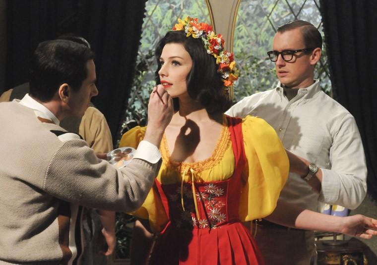 Jessica Paré nell'episodio The Phantom della quinta stagione di Mad Men