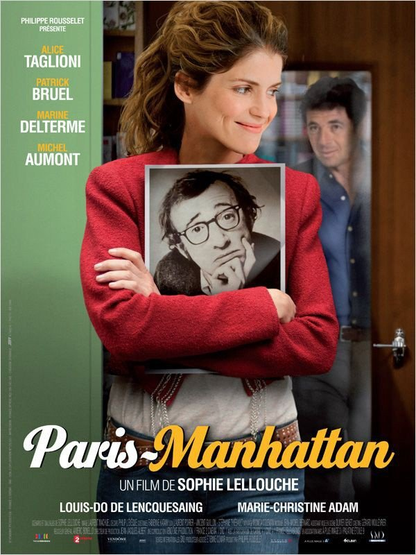 Paris Manhattan: la locandina del film