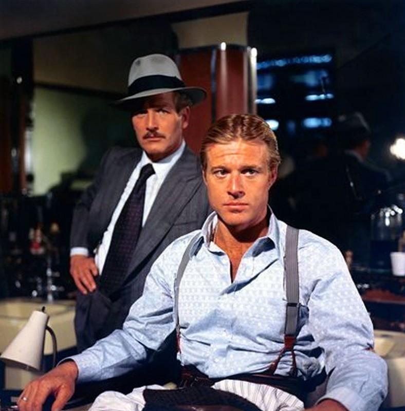 Robert Redford ne La Stangata insieme a Paul Newman