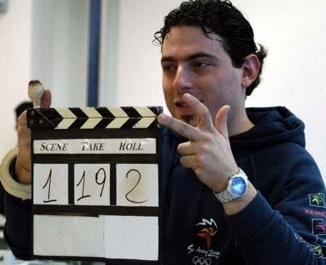 foto di Antonio Di Blasi sul set