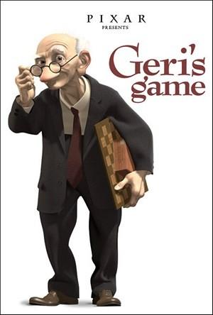 Il gioco di Geri: la locandina del film