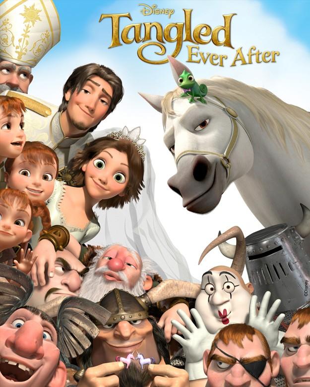 Rapunzel - Le incredibili nozze: la locandina del film