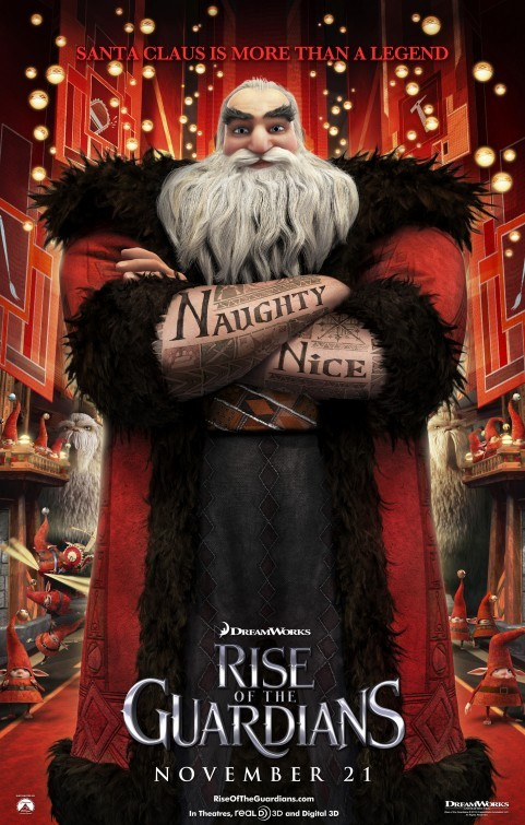 Rise of the Guardians: Character Poster 2 - Santa Claus