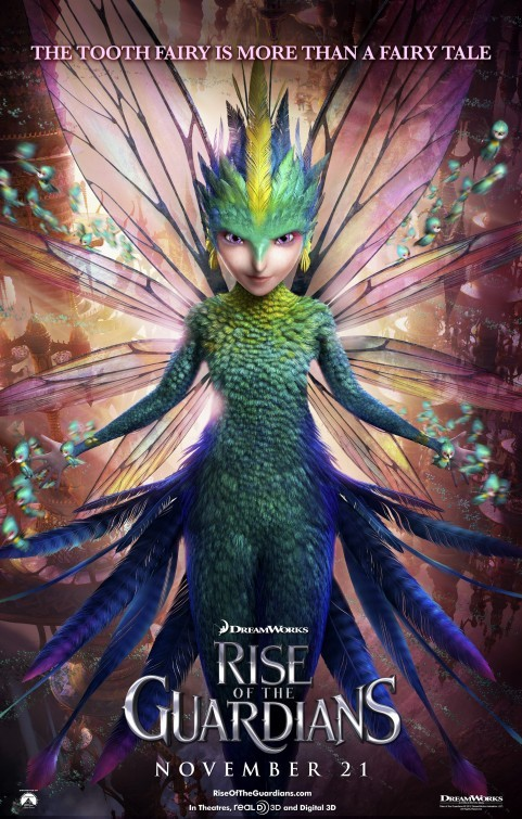 Rise of the Guardians: Character Poster 3 - Tooth Fairy