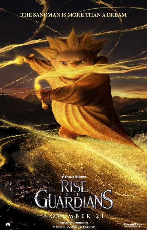 Rise of the Guardians: Character Poster 5 - The Sandman