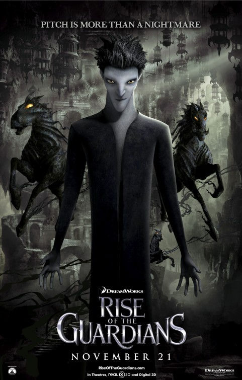 Rise of the Guardians: Character Poster 6 - Pitch