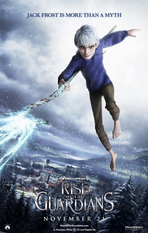 Rise of the Guardians: Charcater Poster 1 - Jack Frost