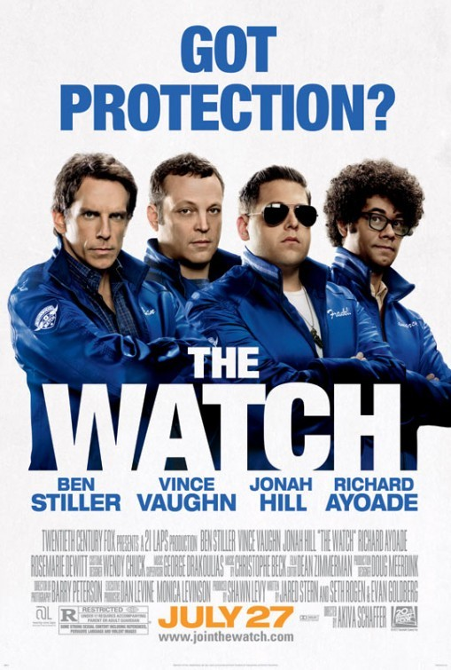 The Watch: nuovo poster
