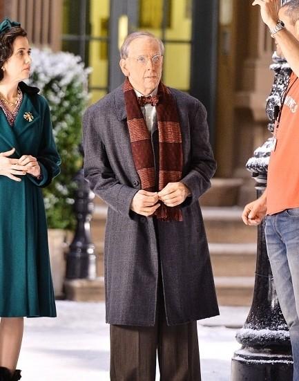 Ben Stiller e Kristen Wiig sul set The Secret Life of Walter Mitty