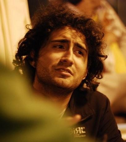Luca Murri sul set