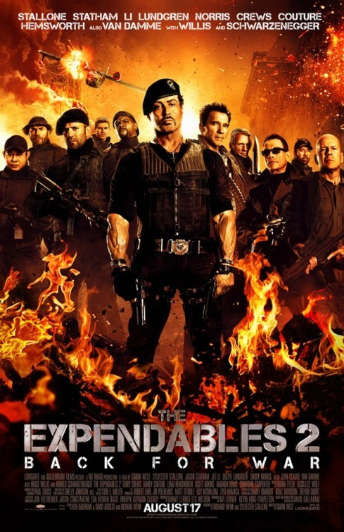 The Expendables 2: Final Poster USA