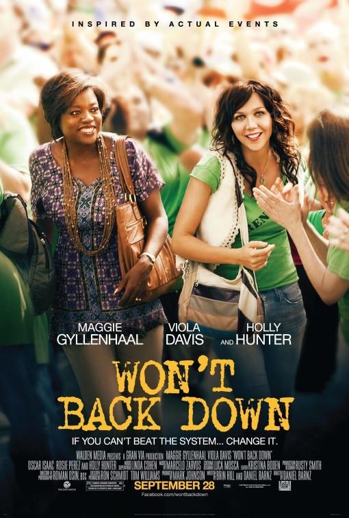 Won't Back Down: la locandina del film