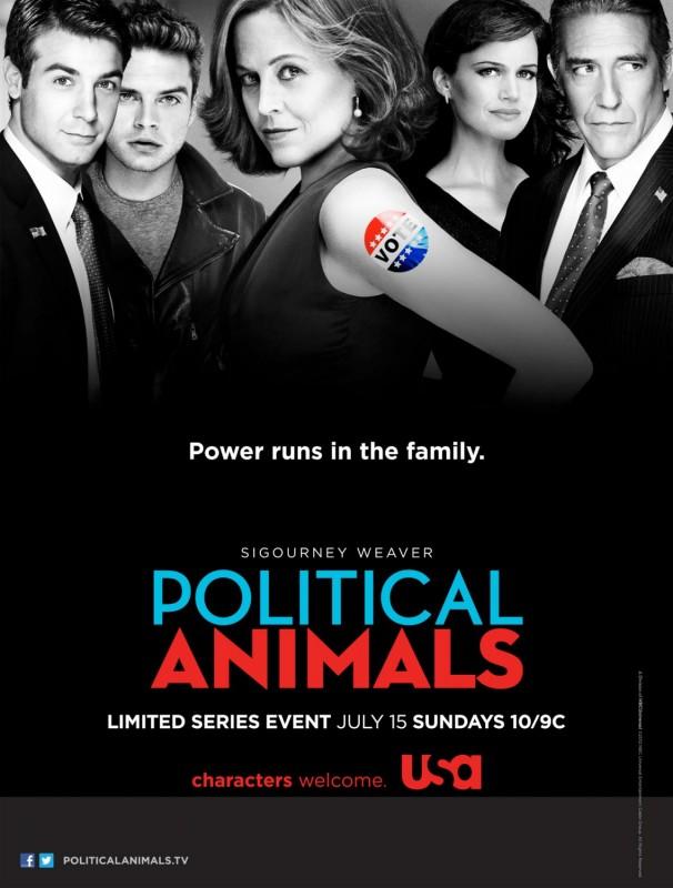 La locandina di Political Animals