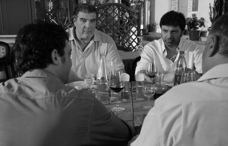Cronaca di un Assurdo Normale: Stefano Calvagna in una scena del film
