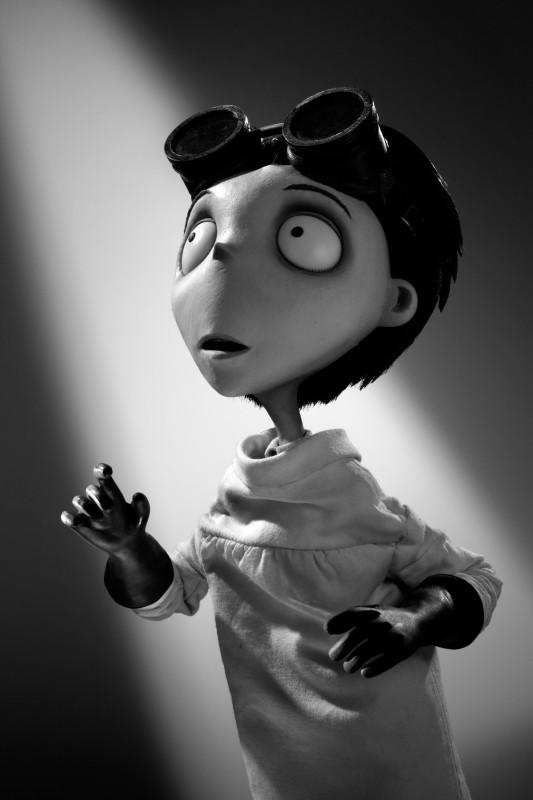 Frankenweenie: il character portrait del piccolo Victor Frankenstein