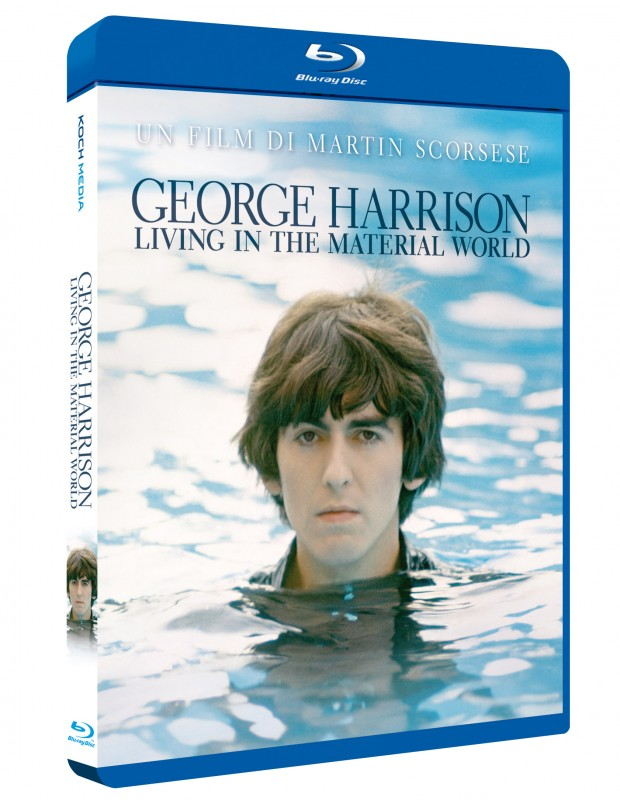 La copertina di George Harrison: Living in the Material World (blu-ray)