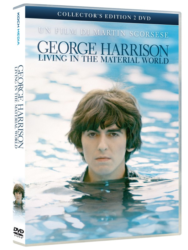 La copertina di George Harrison: Living in the Material World (dvd)
