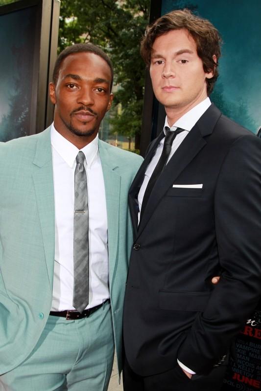 La leggenda del cacciatore di vampiri: Anthony Mackie e Benjamin Walker sul red carpet newyorkese durante la premiere mondiale del film