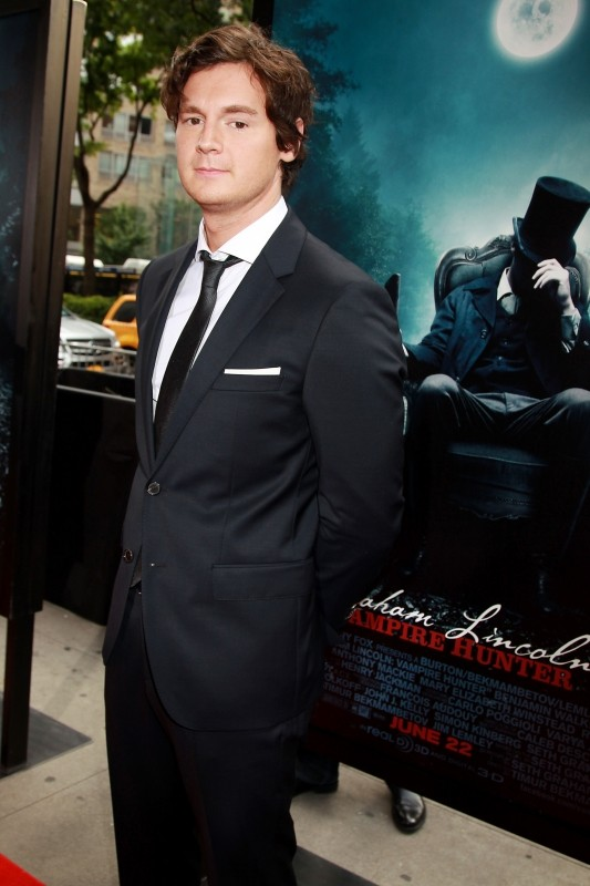 La leggenda del cacciatore di vampiri: il protagonista Benjamin Walker a New York City per la premiere mondiale del film