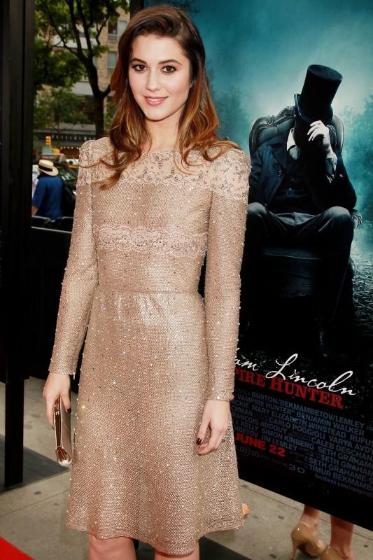 La leggenda del cacciatore di vampiri: Mary Elizabeth Winstead a New York City durante la premiere mondiale del film