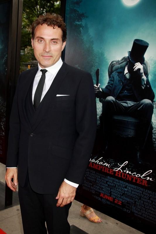 La leggenda del cacciatore di vampiri: Rufus Sewell a New York City per la premiere mondiale del film