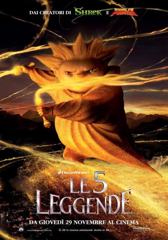 Le 5 leggende: il character poster italiano di Sandman, il guardiano dei sogni